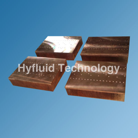 Copper Skive Heat Sink for IGBT Amplifier pictures & photos