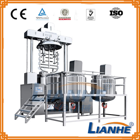 China Vacuum Toothpaste Mixing Making Machine With High
