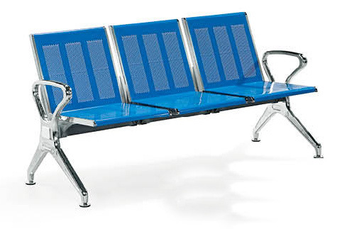 Stainless Steel Bank Hospital Airport Public Waiting Bench Chair (HX-PA618) pictures & photos