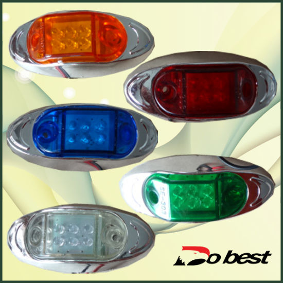 Side Marker Light for Bus Truck Trailer pictures & photos