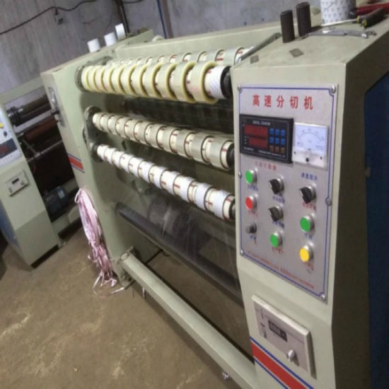 BOPP Adhesive Packing Tape Slitting Machine pictures & photos