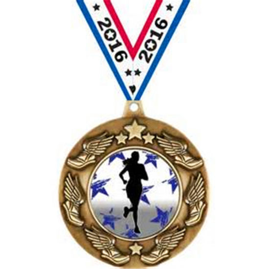 Custom 3D Antique Brass Volleyball Pin Police Star Medal Plane pictures & photos