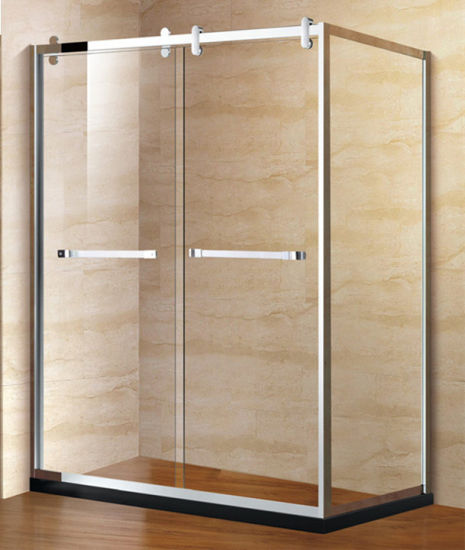 China Glass Shower Enclosures Shower Cubicle Aluminum Profile ...