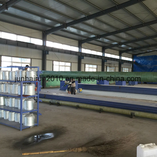 GRP Anti Corrosive Acrylic Water Pipe Chemical Pipe pictures & photos