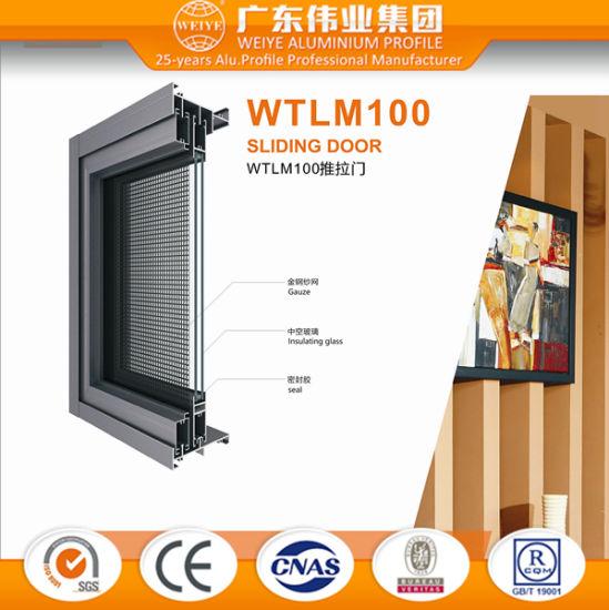 China Dali Supplier Bottom Price for Aluminium Sliding Door