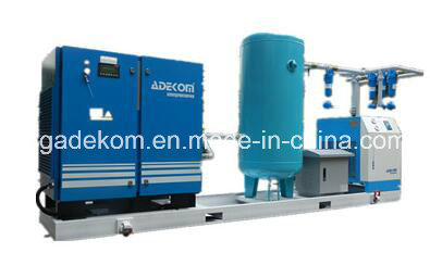 Skid-Mounted Rotary Screw Air Compressor with Dryer pictures & photos