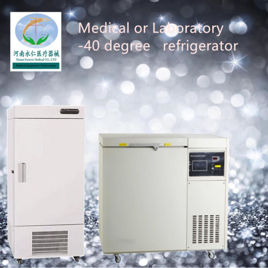 Laboratory Deep Freezer Chest Ultra Low Temperature Medical Freezer