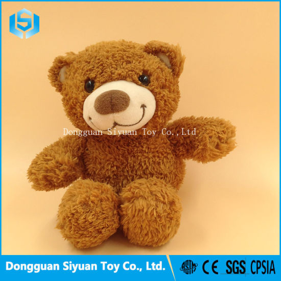 Baby Soft Stuffed Animal Teddy Bear Plush Toy with Smile pictures & photos