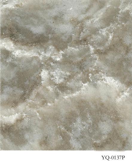 Artifical Quartz Stone Wholesale for Kitchen&Bath (YQ-0137P)