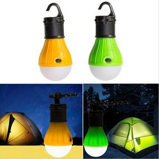 3 LED 3 Mode Outdoor Hanging Camping Tent Hiking Light