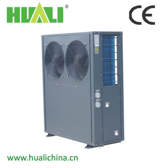 Double Compressors Side Exhaust Air Source Heat Pump/Air Water Heater pictures & photos