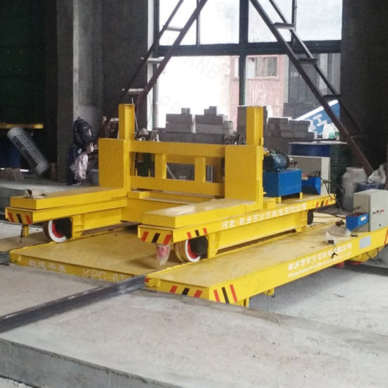 10T Railway Transfer Trolley Applied in Steel Plant (KPC-10T) pictures & photos