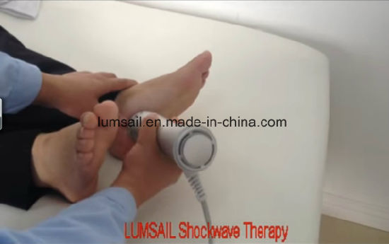 Physiotherapy Equipment Eswt Shock Wave Therapy Equipment for Knee Arthritis pictures & photos