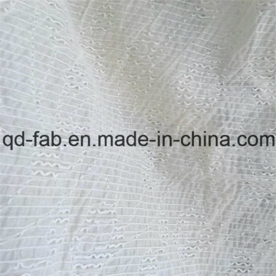 71%Cotton26%Nylon3%Spandex Jacquard Fabric Like Lace (QF16-2510) pictures & photos