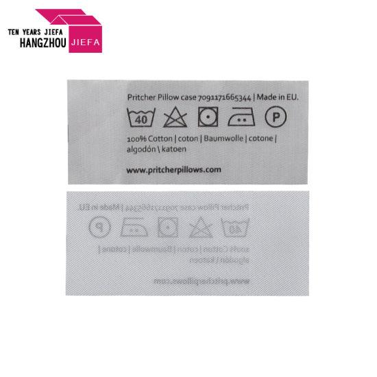 Custom High Quality Print Wash Care Label