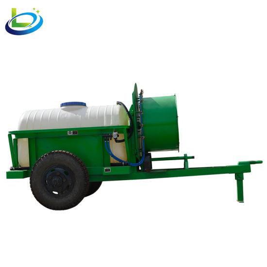 Trailer Boom Tank Orchard Fruit Garden Vineyard Air Blast Sprayer