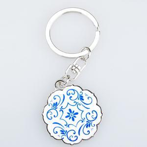 Coin Shape Key Chain, Blank Key Ring (GZHY-KA-016) pictures & photos