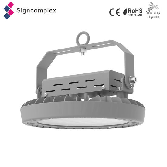 China Manufactures in LED White Round Frosted High Bay, 100W UFO LED High Bay Light IP65 pictures & photos