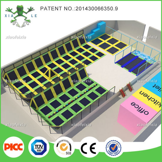 Cheap High Quality Indoor Trampoline Park for Sale pictures & photos