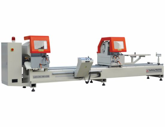 Aluminum Window and Door Profile CNC Double Head Cutting Machine