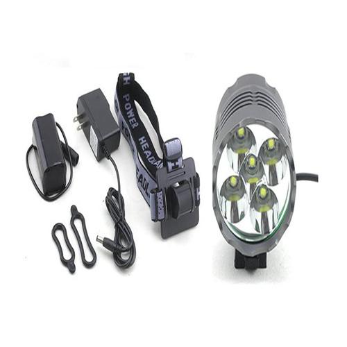 Warning LED Bike Light with 5 CREE Xm-L T6