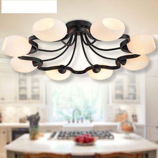 857d61b4edf American Retro Loft Round Rustic Wooden Ceiling Pendant Light Vintage  Chandelier
