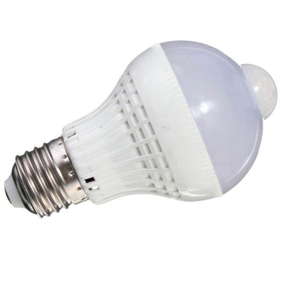 E27 Twilight Sound Motion Sensor LED Bulb Lamp 3/5/7/9W Night Light