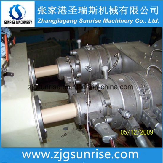 Double Cavity Outlet Electric Conduit UPVC Pipe Extrusion Production Making Machine