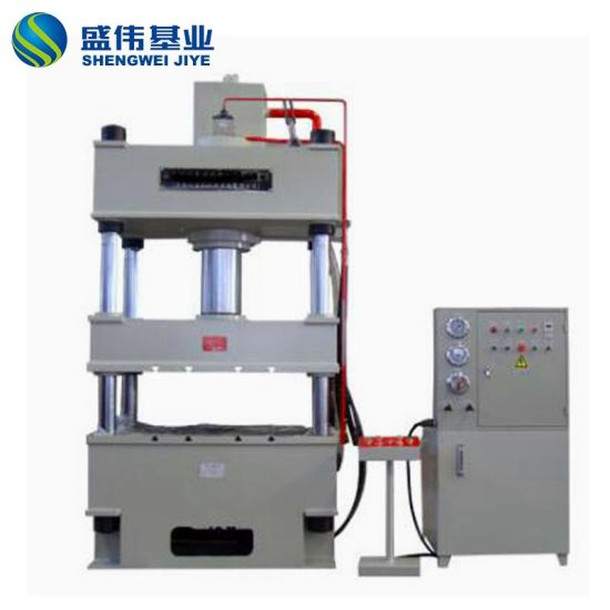 FRP Rubber Industrial Compression Molding Hydraulic Bench Press Machine for Sale