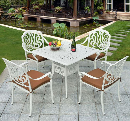 Hot Selling Cast Aluminum Outdoor Furniture Set pictures & photos