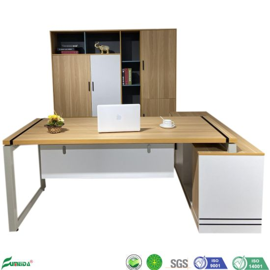 China General Manager Desk for Commercial Wood Luxury Office Furniture Executive Desk