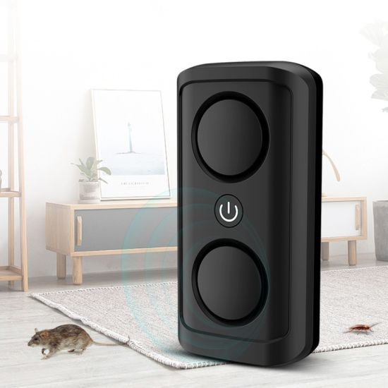 Household Ultrasonic Pest Repeller Mice Rats Bed Bugs Rodents Insects Electronic Repellent with Double Speakers