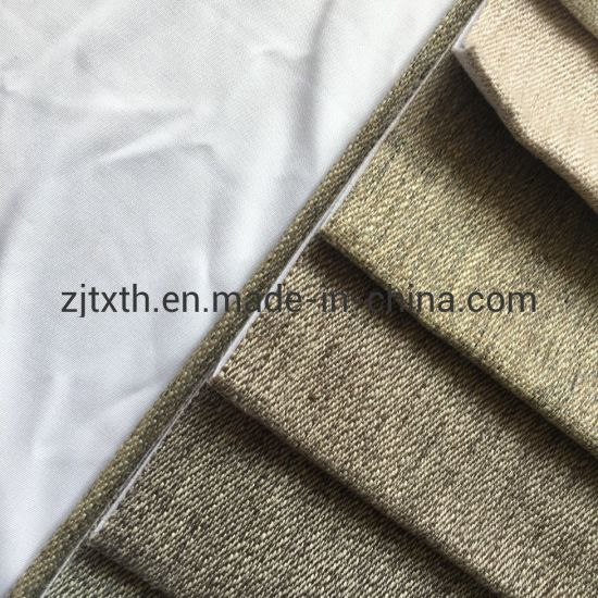 2019 Hot Sale New Color Linen Upholstery Fabric for Sofa