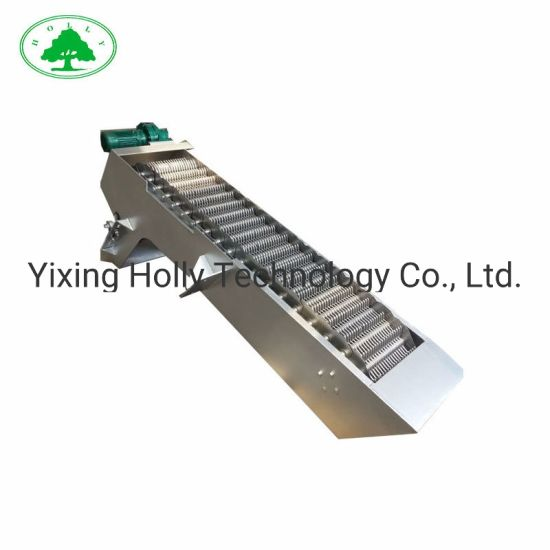 Waste Water Treatment Solids Filtering Bar Screen