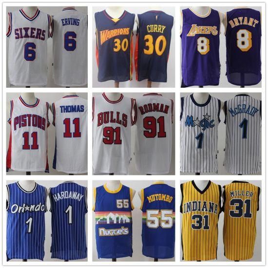 76ers Warriors Magic Throwback Stitched Basketball Jerseys