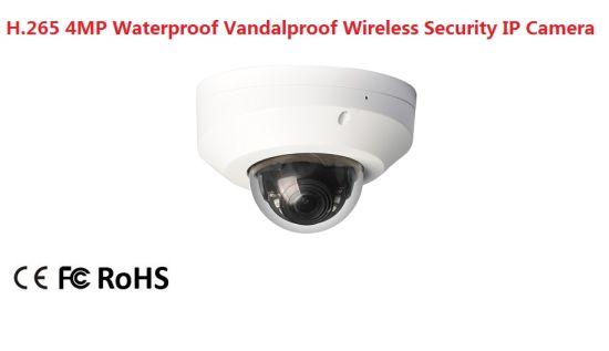 Fsan H. 265 4MP IR Infrared Waterproof Security Surveillance Mini Dome Camera