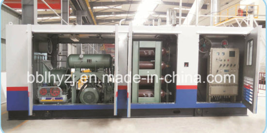 China Skid-Mounted Structure CNG Substation Compressor - China