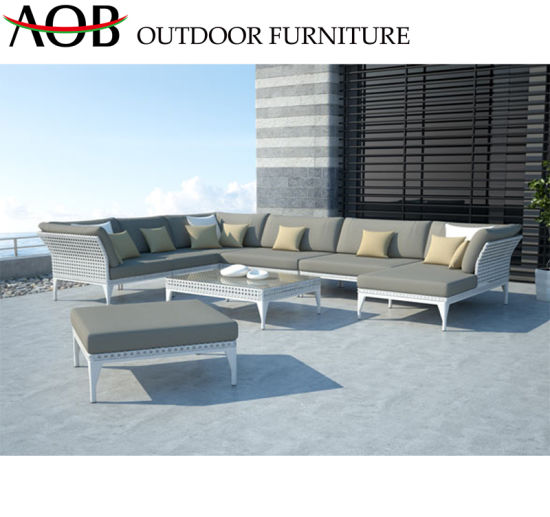 Set Giardino In Rattan.Modern Hotel Outdoor Garden Patio Home Livingroom Furniture Rattan