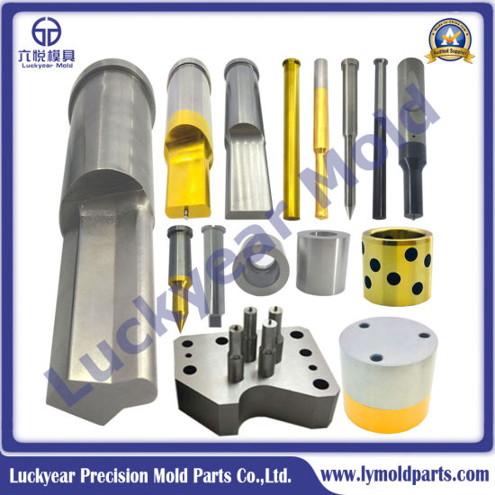 Mold Part, Precision Mold Parts, Ejector Pin Mold Part, Mold Part for Plastic Mold, Cooling Mold Part