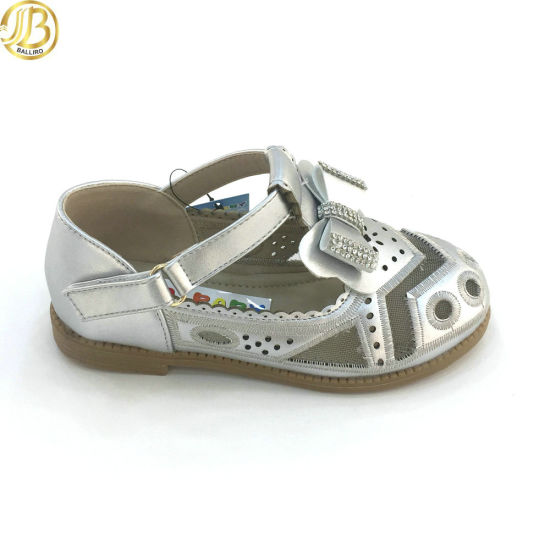 Latest Products 2018 Baby Girl Shoes Kids Bowknot Cheap Childrens Shoe Shiny