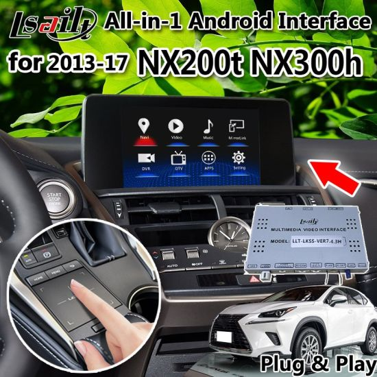 China All-in-1 Plug&Play Android Interface GPS Navigator for 2013
