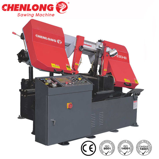 Scissor Style 330mm Automatic Band Sawing Machine CS-330HB