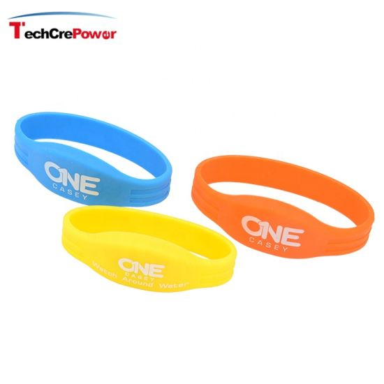 IC S70 Adjustable Chip Silicone Wristband Bracelet pictures & photos