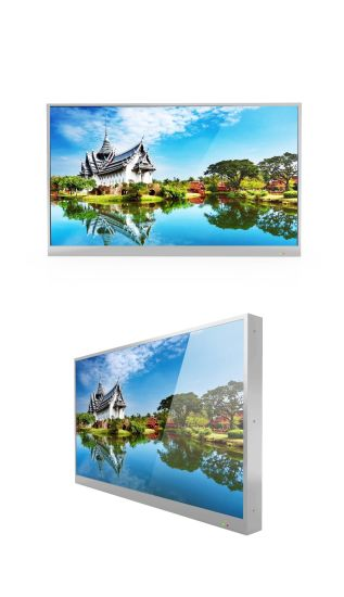 All Weather Outdoor Display with 1500nits Brightness IP 65 Rating Outdoor TV pictures & photos