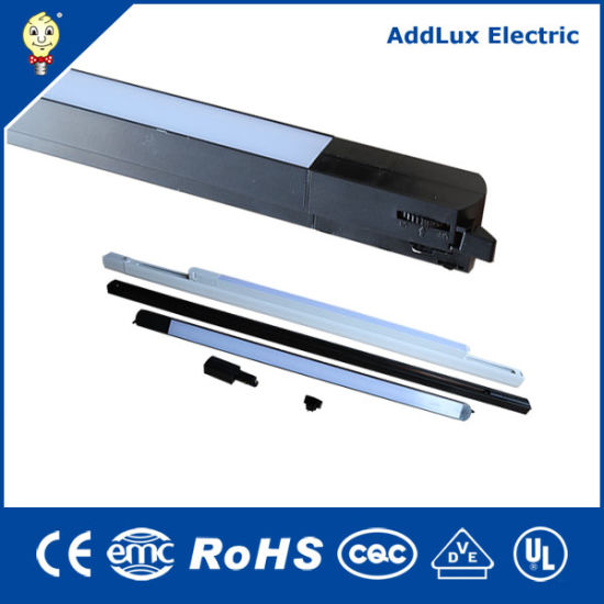 Saso Ce UL 15W 28W 30W 4 Wires Track Linear LED Lights Made in China for Office, Store, Supermarket, Workshop or Warehouse Lighting