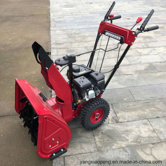 Cheap Gasoline Snow Thrower Snow Blower 6.5HP pictures & photos