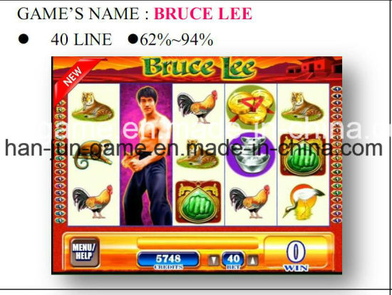 Bruce Lee-40 Line Gambling Casino Game Machine Arcade Game Machine pictures & photos
