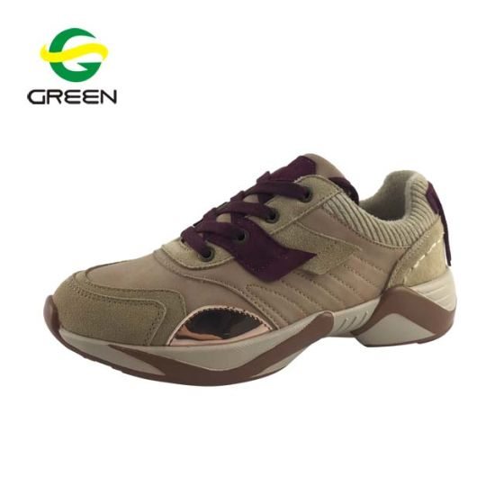 Greenshoe High Quality Custom Women Casual Sneakers, Ladies Sneakers Casual Flat Shoes Women Casual, Shoes Women Casual Flat pictures & photos