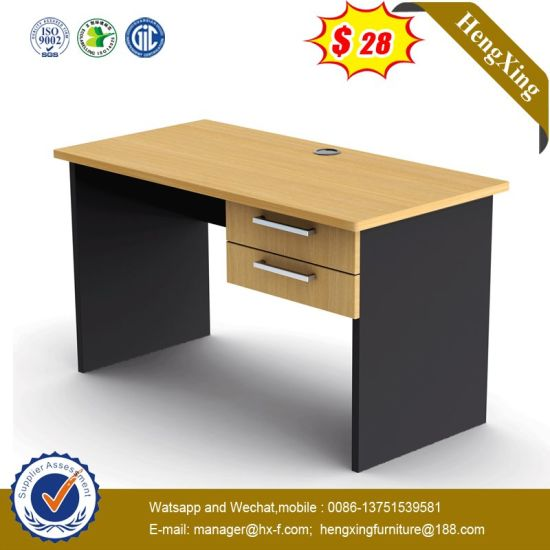 Modern Wooden Executive Hospital Hotel Home School Office Table Computer Desk