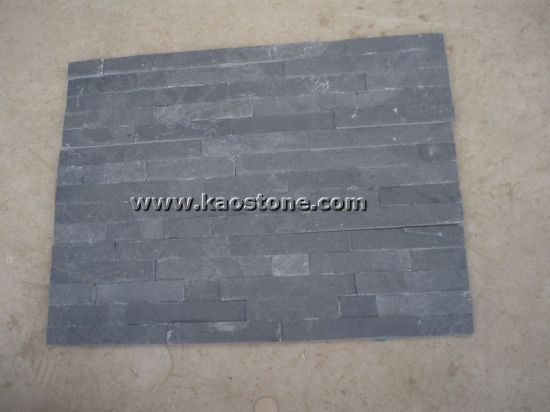 Natural Stone Black Slate for Roofing/Floor/Wall Cladding/Paving Slate Tile pictures & photos